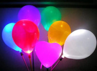 Wholesale Christmas gift led balloon flashing balloon lighting balloon toys party supplies
