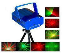Wholesale Brand New Green amp Red Laser DJ Party Stage Lighting Light laser star projector KTV Party Decoration