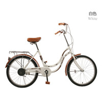 Wholesale City Bike Bike Leisure City Bike Princess Ladies Bike inch High Carbon Steel Frame Retro Bike Double Bending Beam Light Bike
