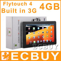 Wholesale Flytouch Android inch tablet pc Build in G Support Phone Calling SIM slot WIFI Camera GPS