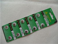 button cell lr621 - 50pcs AG1 A LR621 SR621SW TIANQIU Alkaline Battery V Button Cell Coin Batteries