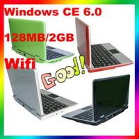 Wholesale 2GB Windows CE MINI Inch Netbook Laptop Notebook Computer Internet Tablet PC Ematebiz