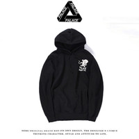 apparel standards - PALACE Men fleece hoodie autumn and winter women Men fashion printed casual sweatshirt sweater men s apparel Europe and America style