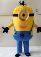 Wholesale On sale ems styles Despicable me minion mascot costume for adults despicable me mascot costume