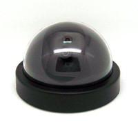 Fake Dome Surveilance Caméra de sécurité Dummy Détecteur de mouvement CCTV LED Facile à utiliser