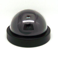 Wholesale Fake Dome Surveilance Security Camera Dummy Motion Detector Sensor CCTV LED Easy to Use