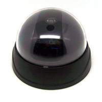 black anti security camera - Fake Dome Surveilance Security Camera Dummy Motion Detector Sensor CCTV LED Anti theft And So On
