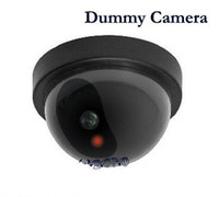 Wholesale Fake Dome Surveilance Security Camera Dummy Motion Detector Sensor CCTV LED crime prevention