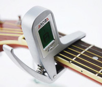 Wholesale NEW BRAND metal capo and automatic tuner copact