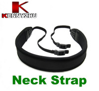 Neck Straps bag strap material - Camera Shoulder Neck Strap Belt For All DSLR SLR Soft Neoprene Padding And Woven Nylon Material