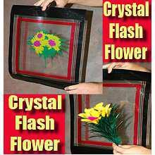 Crystal Flash Flower - Feather---magic trick