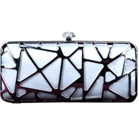 Wholesale T2603101 LADY S CLUTCH PURSE EVENING BAG METAL WEDDING BAGS