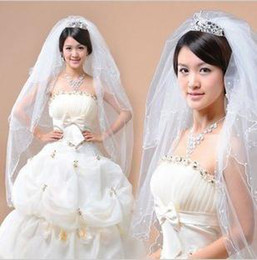 Wholesale New veil the bride veil marriage gauze veil the bride TS615 deserve