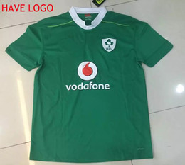 Wholesale Top Quality Ireland Repbulic Rugby Jersey Green Man Adults Ireland Rugby Shirts Over Free DHL shipping