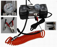 Wholesale 12V car air pump Automobile metal filling appling pump NE cars trucks and motorcycles air pump