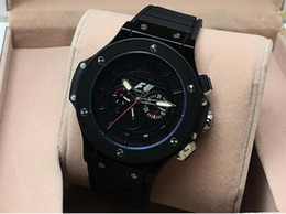 Wholesale Factory top new good luxury brand big bang automatic mechanical watch men s rubber multifunction pin full function machinery fre
