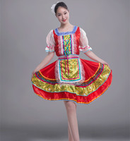 Wholesale Classical Traditional Russian Dance Costumes Women Dress For children Kids Girls Russian Style Folk Dance Costumes