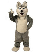 Wholesale Manufacturer direct selling Husky Dog Mascot Costume Adult Cartoon Character Mascota Outfit Suit Fancy Dress Party Carnival Costume
