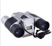 Wholesale 10x25 Zoom Digital Camera Video LCD Telescope Binocular with digital camera M Memory pc