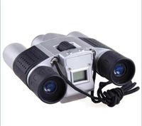 Wholesale 10x25 Zoom Digital Camera Video LCD Telescope Binocular with digital camera M Memory pc