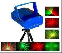 Wholesale Hot Selling Mini portable Flash Disco DJ Party Club Light Stage Lighting Laser Lamp Lights Effects