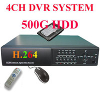 Wholesale DVR H with G phone CCTV CH A V H DVR Standalone network G Security System