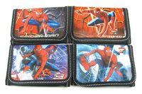 Wholesale New Popular Spiderman Cartoon Wallet Purses Party Gift