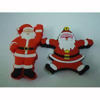 Wholesale PC Gift GB Santa Claus U Flash Father Christmas USB Flash Drive Kriss Kringle