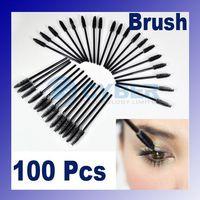 Wholesale Makeup Brush Eyelash One off Eyelash Brush Mascara Wands Applicator Disposable Eye Lash