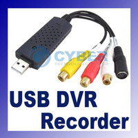 USB Black Pentium III 800 above USB DVR CCTV Video Audio Capture Recorder Card Adapter 256MB Above Of RAM High Quaity