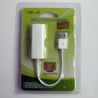 Wholesale Hot sale USB to RJ45 Lan Ethernet Adapter Mb Adapter for MAC macbook air pro Win7