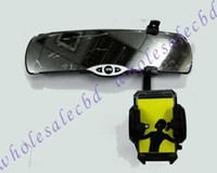 For Apple iPhone   50pcs Flexible Car Rearview Mirror Holder Mount for GPS navigators and PDA phone