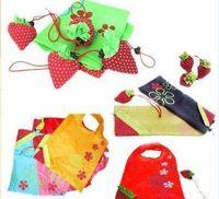 Wholesale 105 Foldable Shopping Bag Strawberry Bag Christmas Gift Fruit Foldable Bag