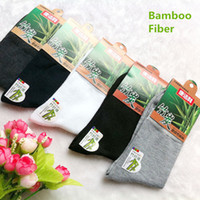 bamboo athletic wear - New Bamboo Fiber Men Socks Cotton athletic Casual sports Dress socks Multi colors durable wear resisting Male socks