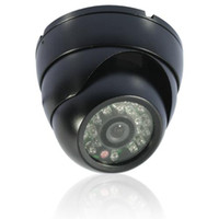 Wholesale VANDALPROOF amp WEATHERPROOF SONY TVL Effio E Infrared Metal Outdoor Waterproof Dome CCTV Camera OSD
