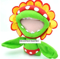 "Super Mario\ Piranha 6. 4"" Plush Doll Toy Super Mario pl..."