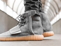 Wholesale 2016 Kanye West Boost Brown Gum Glow In The Dark Boost Footwear Sneakers Casual Shoes Dropping Shipping Accepted
