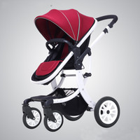 Wholesale Baby Strollers Portable Folding Stroller Shock Adjustable For Newborn Pushchair High Quality Strollers Vibration Reduction