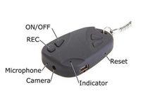 Wholesale 110pcs spy car key camera keychain camcorder mini dv dhl