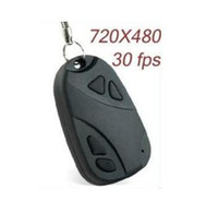 Wholesale spy car key camera keychain camcorder mini dv camera mini DVR