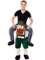 beer clothing - Carry Me Bavarian Beer Guy Mascot Costume Ride On Character Fancy Dress Ride On Halloween Costumes Funny Clothing B278
