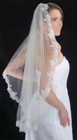 adorn sequin - Alencon lace edge adorned with tiny pearls sequins seed and bugle beades wedding veil