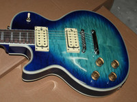 Wholesale New arrival Left handed Custom electric guitar in blue