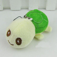 Wholesale Plush Little Turtle phone chain Plush pendant cheap price and high quality