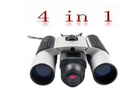 Wholesale 4 in Digital Binoculars Camera Video Webcam PC Camera K pixels CMOS Sensor DT02