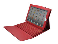 apple keyboard protecter - Bluetooth Wireless Keyboard Leather Case for Ipad Air Mini Retina Stand Holder Protecter with Keyboard
