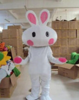 animated movie making - Hot selling Big White Rabbit cartoon garment animated Mascot Costumes clothing performance clothing walking maatwer