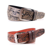 Wholesale The new summer fashion belt close up retro patterns Korean men s belt buckle