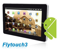 Wholesale New quot Android Epad X220 Flytouch M ram gb hard disk WIFI G GPS Camera HDMI RJ45