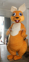 animal forest movie - Hot selling Adult Size Forest Animal Brown Kangaroo Mascot Costume Fancy Dress Party Outfit Drop Shipping
